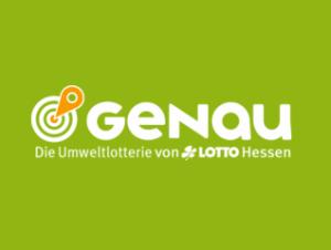 GENAU Umweltlotterie Hessen Logo