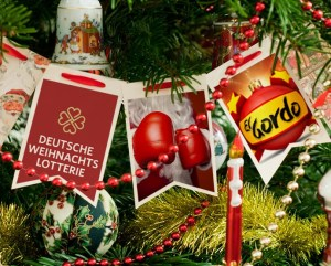 Weihnachtslotterie Deutschland vs. Spanien