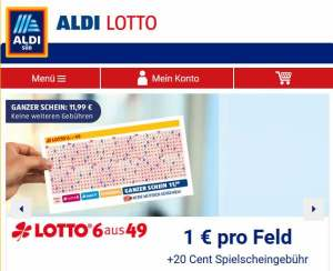 Aldi-Lotto Screenshot