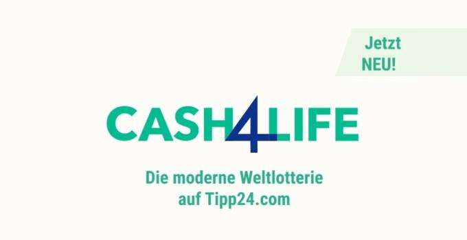 Cash4Life Logo von Tipp24