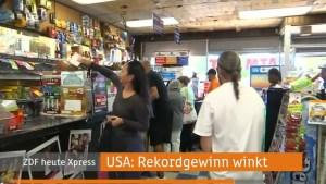 ZDF heute express über Lottorekord