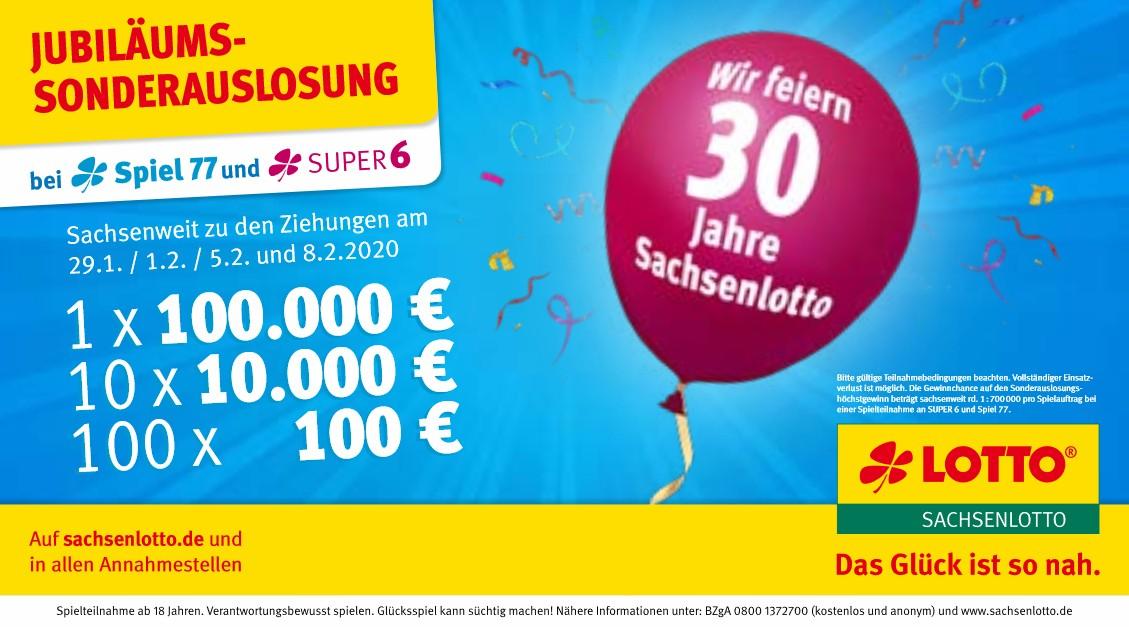 Lotto Sonderauslosung 2020