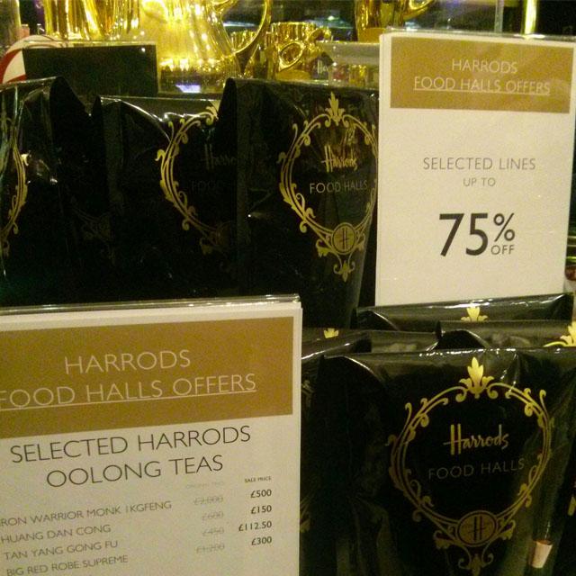 Harrods food