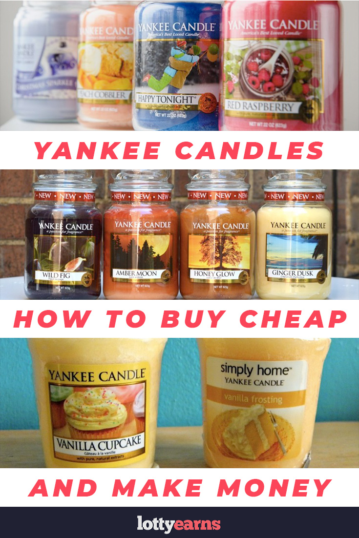 Yankee Candles - How to buy cheap and make money - lottyearns