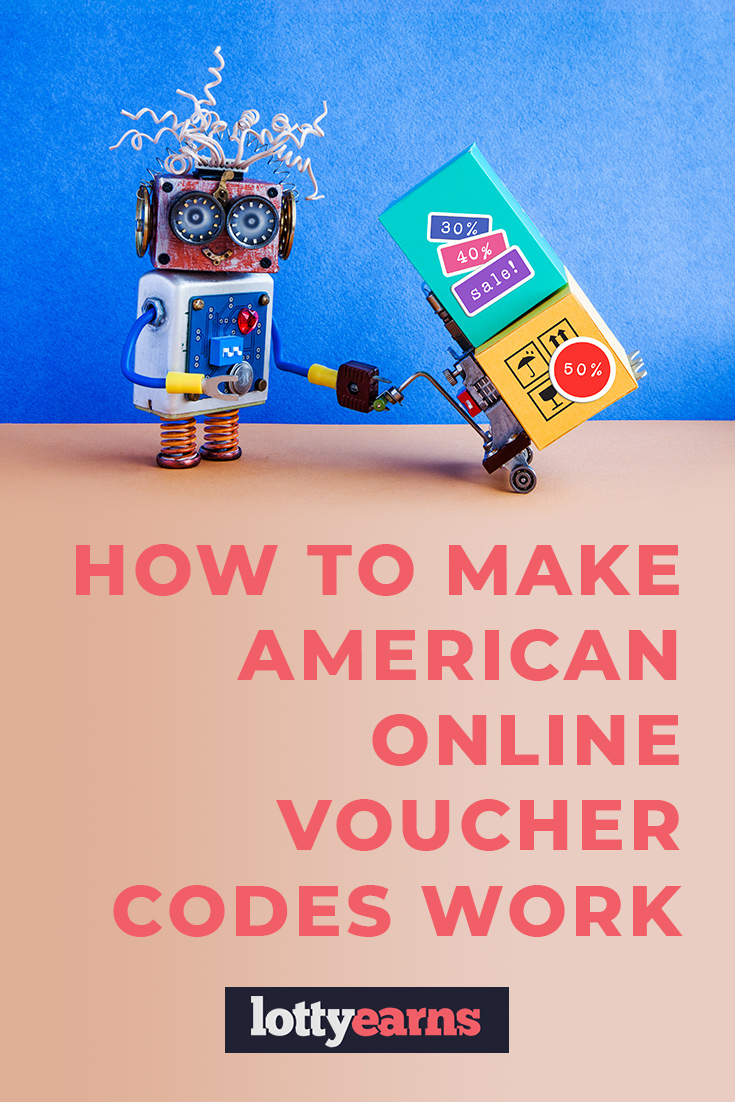 How to make American online voucher codes work in the UK