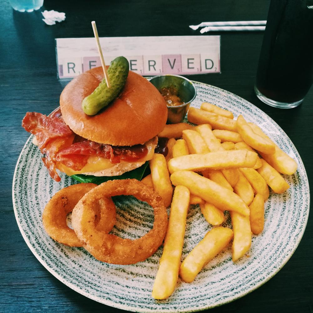 Wetherspoons burger