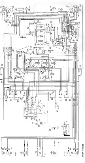 Lotus Cortina Wiring Diagrams