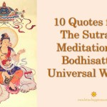 10 Quotes from The Sutra of Meditation on Bodhisattva Universal Worthy