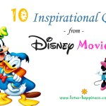 10 Inspirational Quotes from Disney Movies