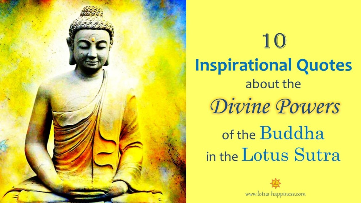 10 Inspirational Quotes About The Divine Powers Of The Buddha In The