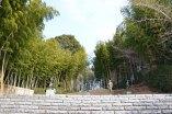 笠間日動美術館の庭園