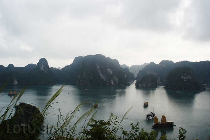 Halong Bay Vietnam Rock Climbing