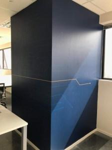 Envelopamento de paredes e portas