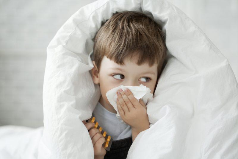 hangerige dreumes verkouden