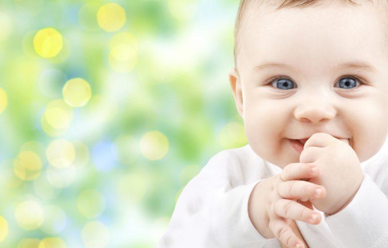 eerste halfjaar baby