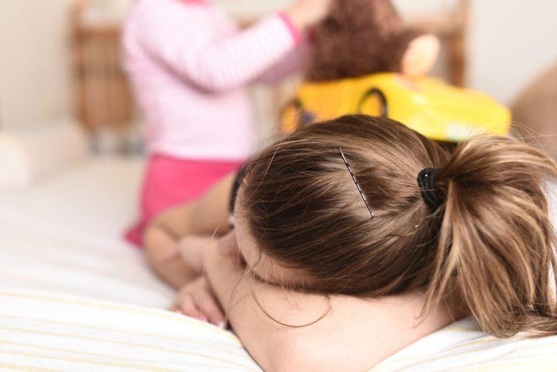 Kind wil alleen bij mama in bed liggen