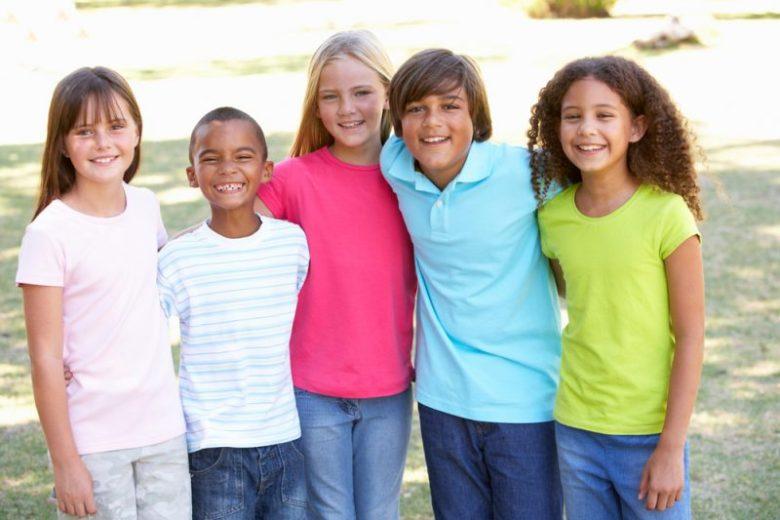 succesvol op pad met 5 kinderen