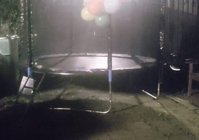 trampoline monteren