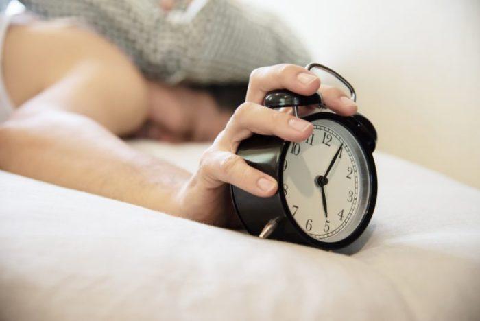 ernstig slaaptekort met een baby