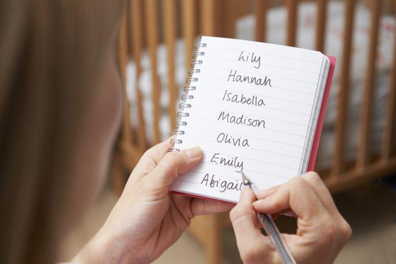 voornamen van je kinderen gebruiken op je blog