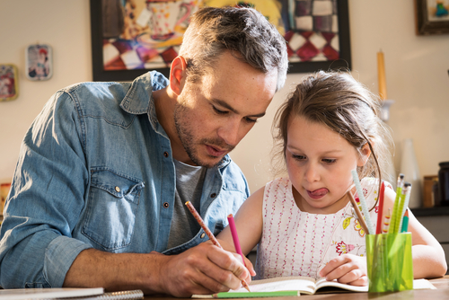 begeleiden van huiswerk