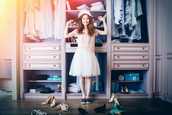 kledingkast minimaliseren