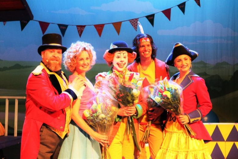 Pipo en de Piratenprinses cast