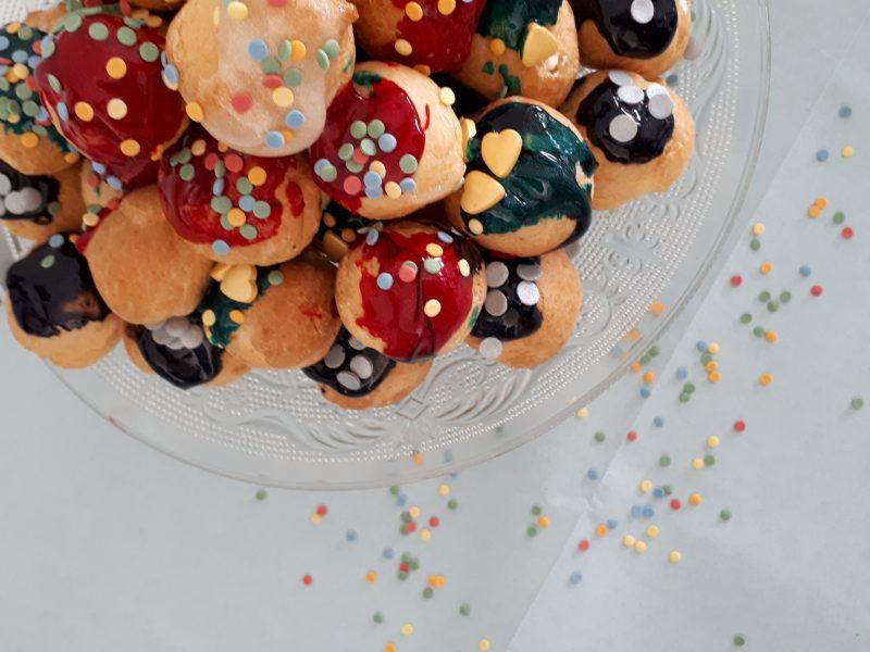 mislukte taart oplossing regenboogtaart