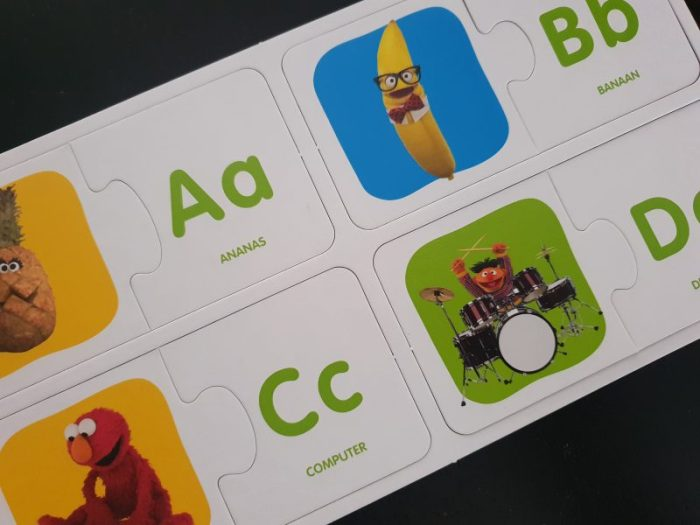 Sesamstraat ABC & 123 puzzel review