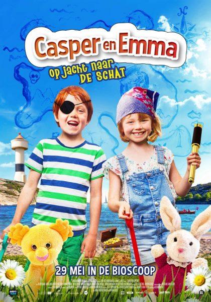 Casper en Emma op jacht naar de schat
