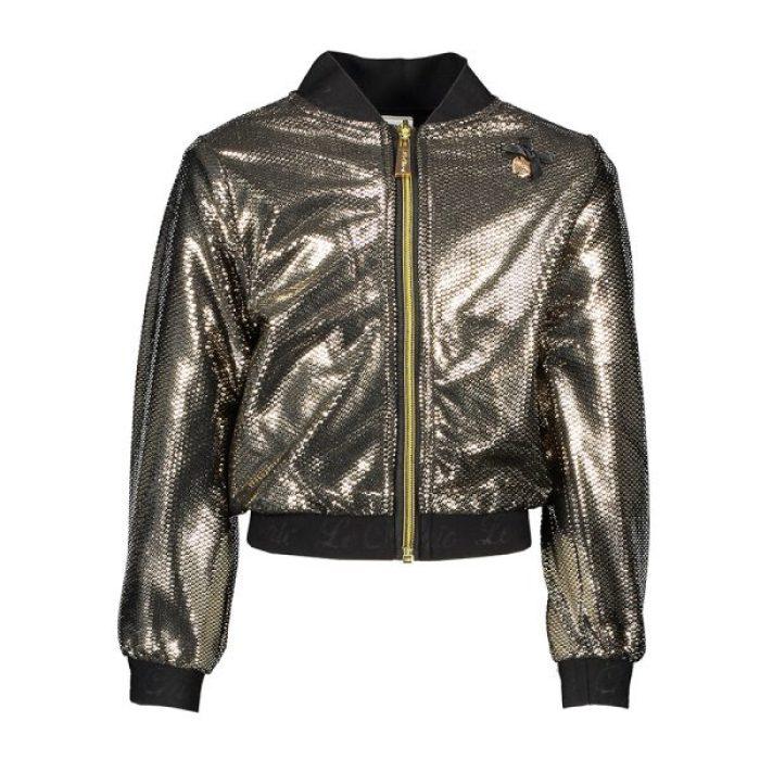 trends winterjassen 2019 2020 metallic jas Le Chic