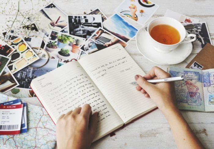 zo maak je een zomerdagboek vakantiedagboek staycation