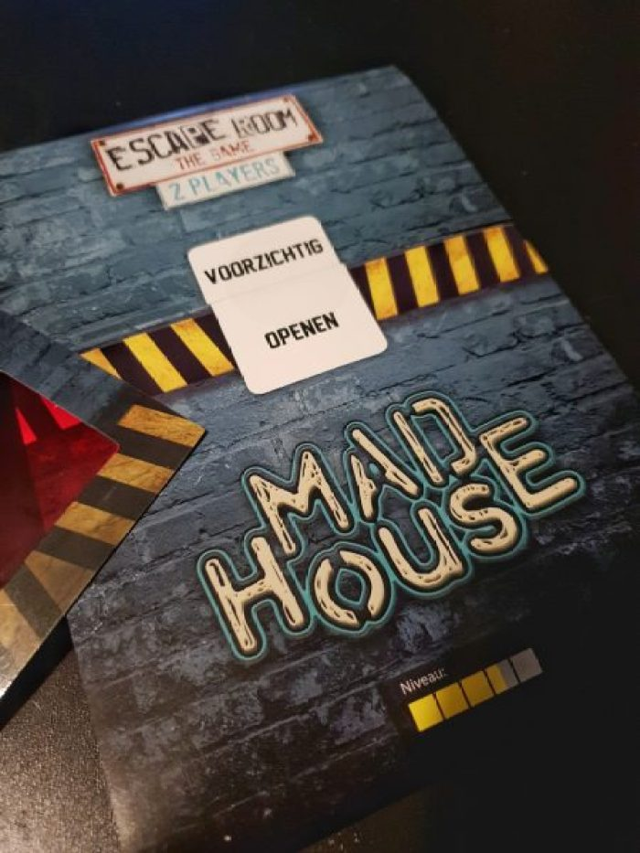 Escape Room the Game 2 player Mad House