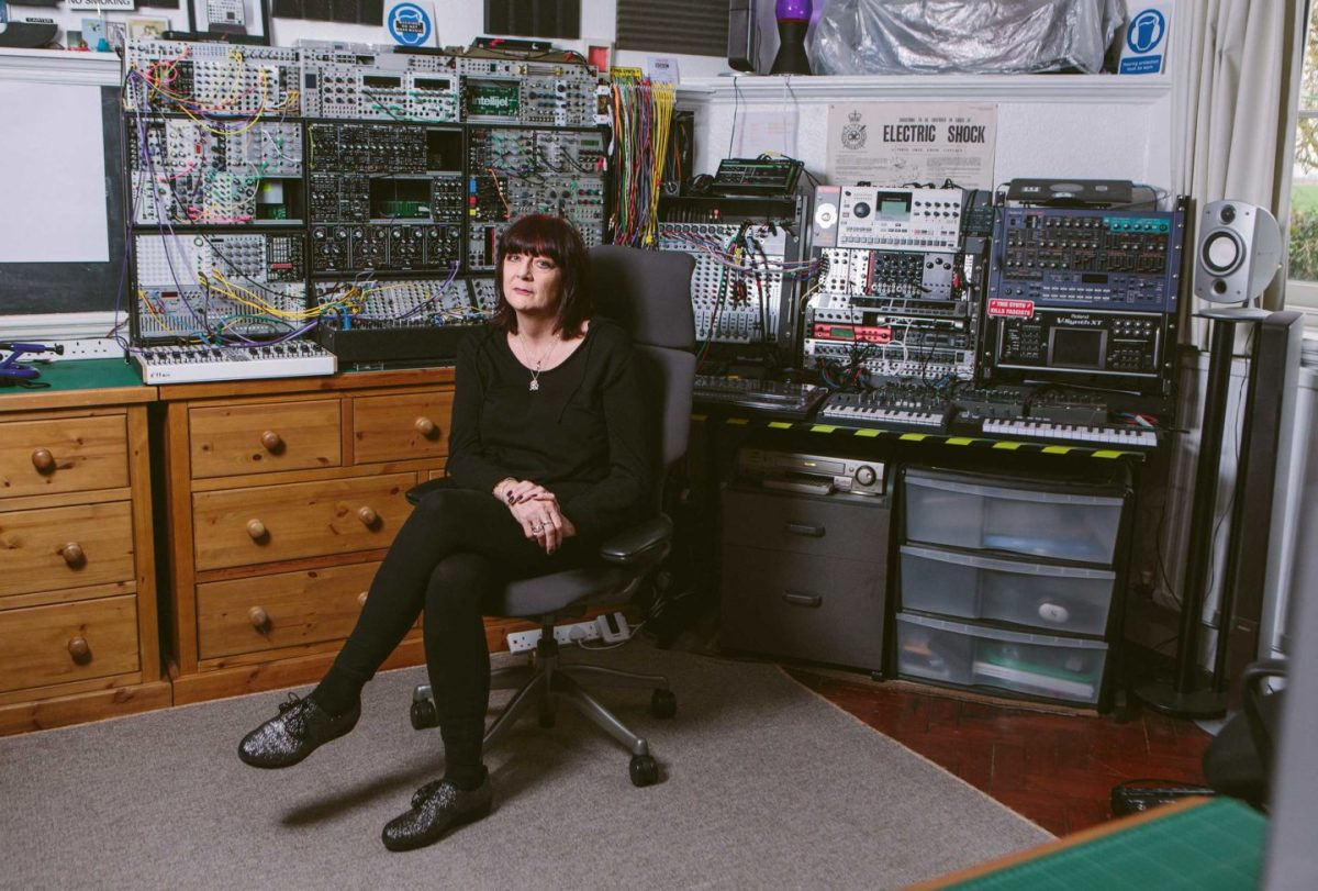 Cosey Fanni Tutti showed us around her home, an old school house in Norfolk
