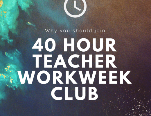 40 hour teacher workweek