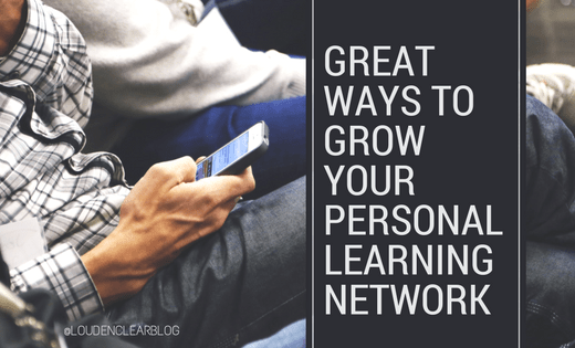 grow personal learning network
