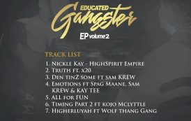 Freddy Spirit Outdoors Anticpated Educated Gangstar EP