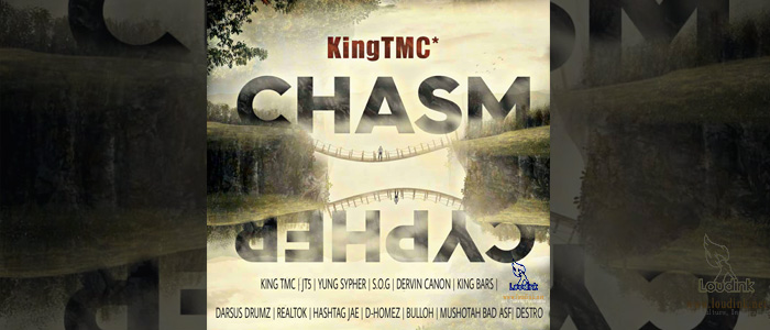 The King's Chasm Cypher official artwork post @loudink.net