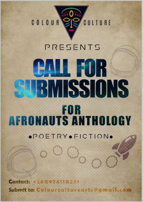 CALL FOR SUBMISSIONS AFRONAUTS poster @ loudink