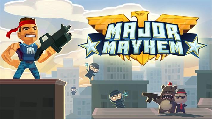 Major Mayhem Game for windows phone