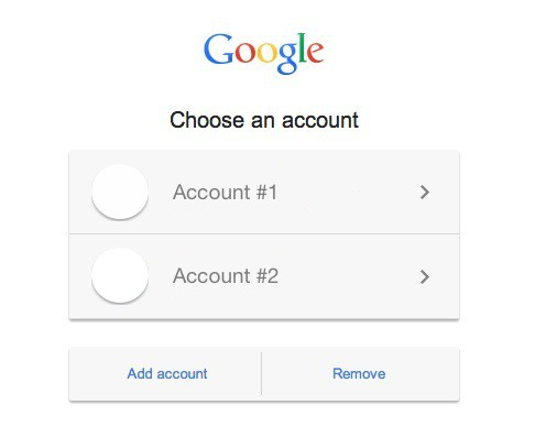 How to Set a Default Google Account