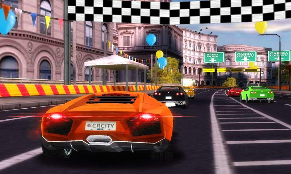 City Racing 3D Game for windows phone