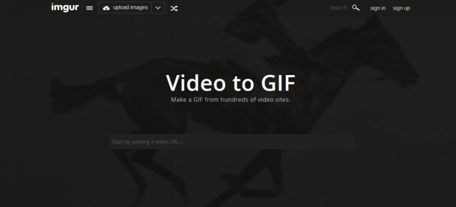 Imgur Best Websites to Create GIF Images from YouTube Videos