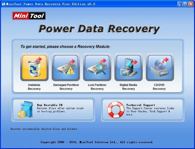 Minitool Partition Recovery Best recovery software 2016