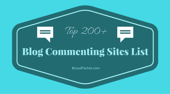 Top 200+ Dofollow Blog Commenting Sites List 2016 (Updated)