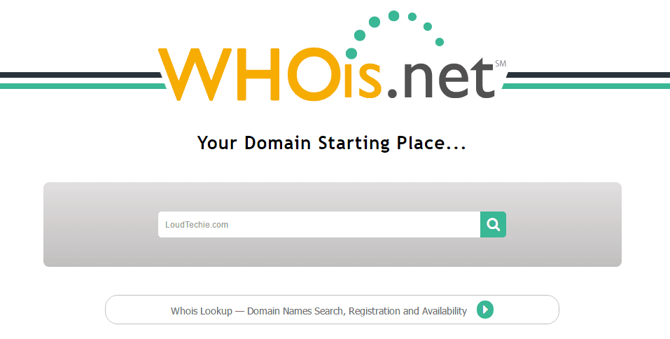 How to Use Whois.Net to Check the Availability?