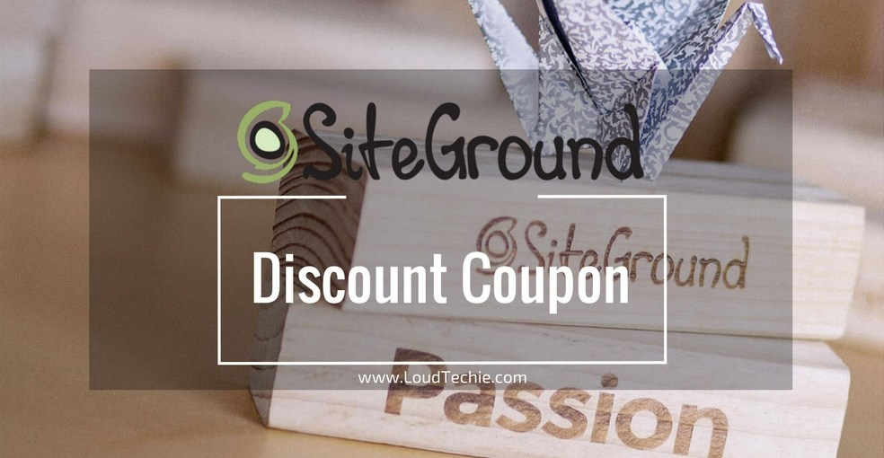 SiteGround Discount Coupon