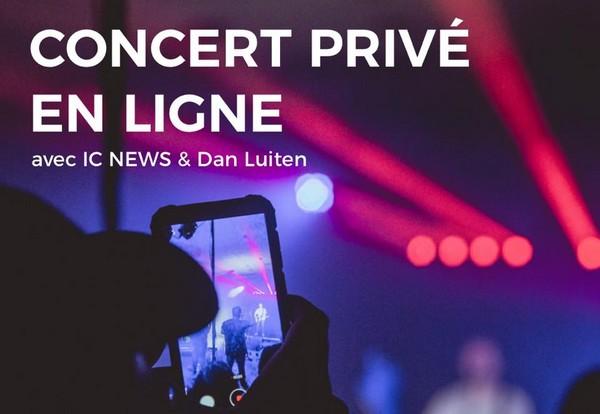 Concert privé Dan Luiten
