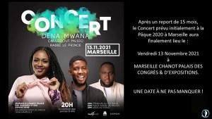 Concert Dena Mwana Marseille 13.11.2021