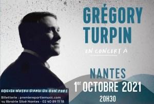 Concert Grégory Turpin 2021